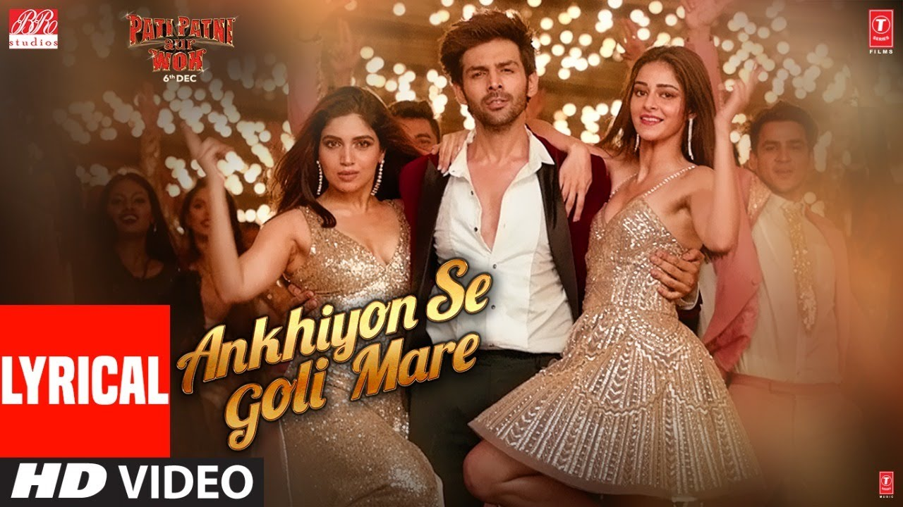 Ankhiyon Se Goli Mare Song Lyrics Image