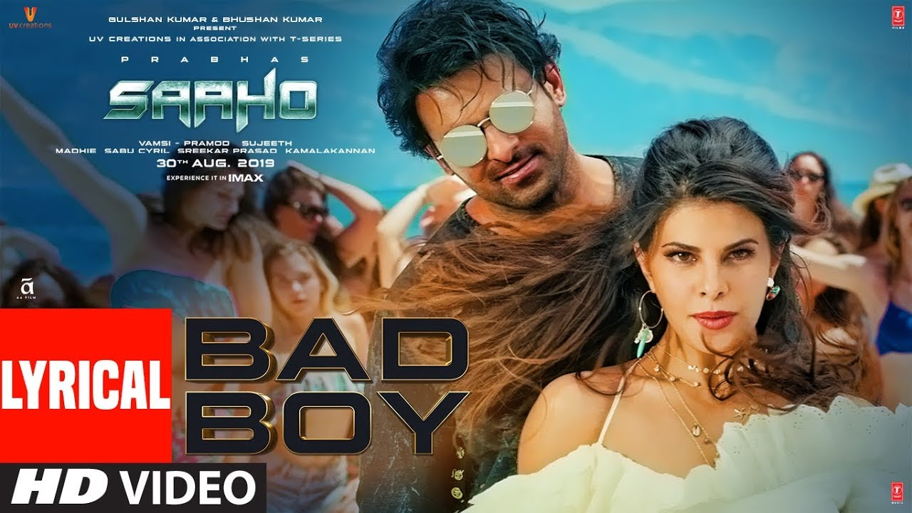 Bad Boy Song Lyrics Image