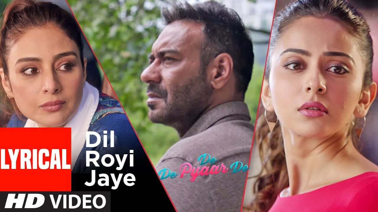 Dil Royi Jaye Song Lyrics Image