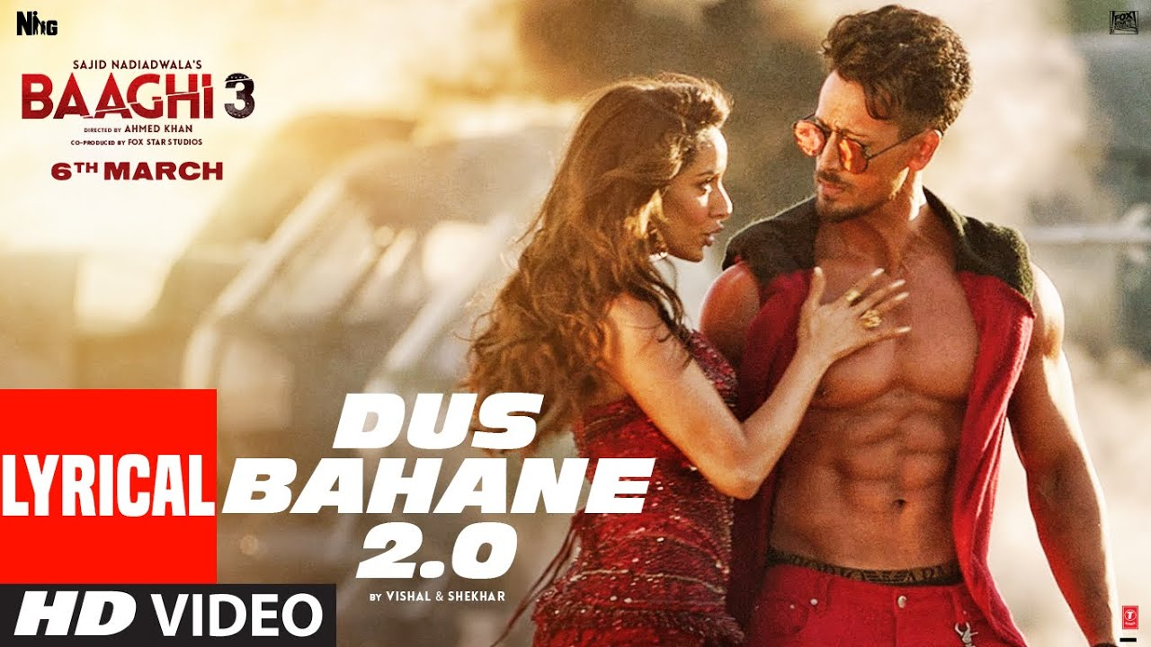 Dus Bahane 2.0 Song Lyrics Image