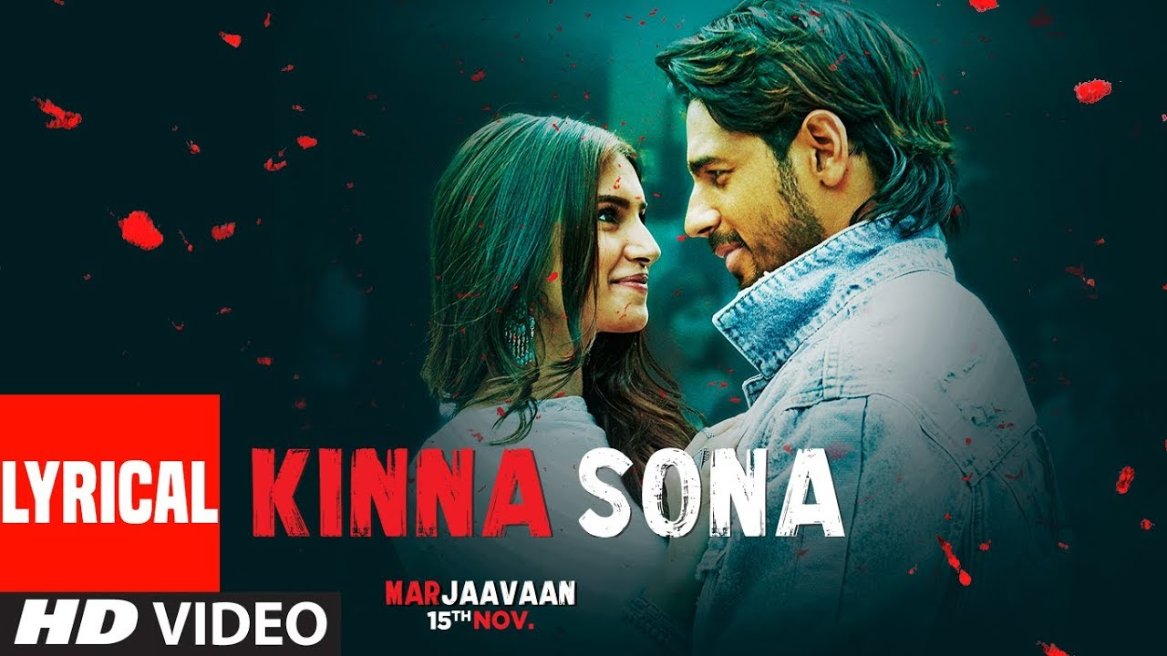 Kinna Sona Song Lyrics Image