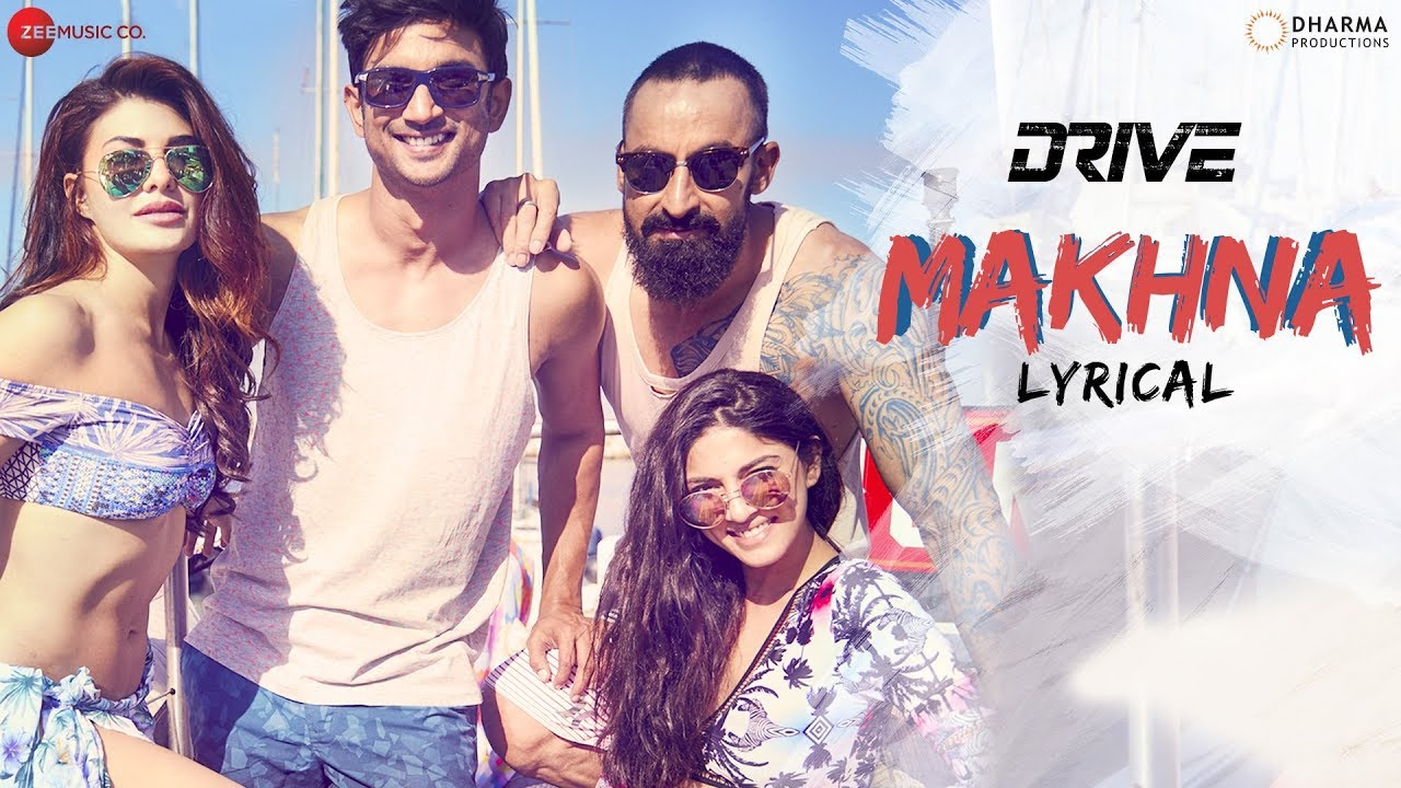 Makhna Song Lyrics Image