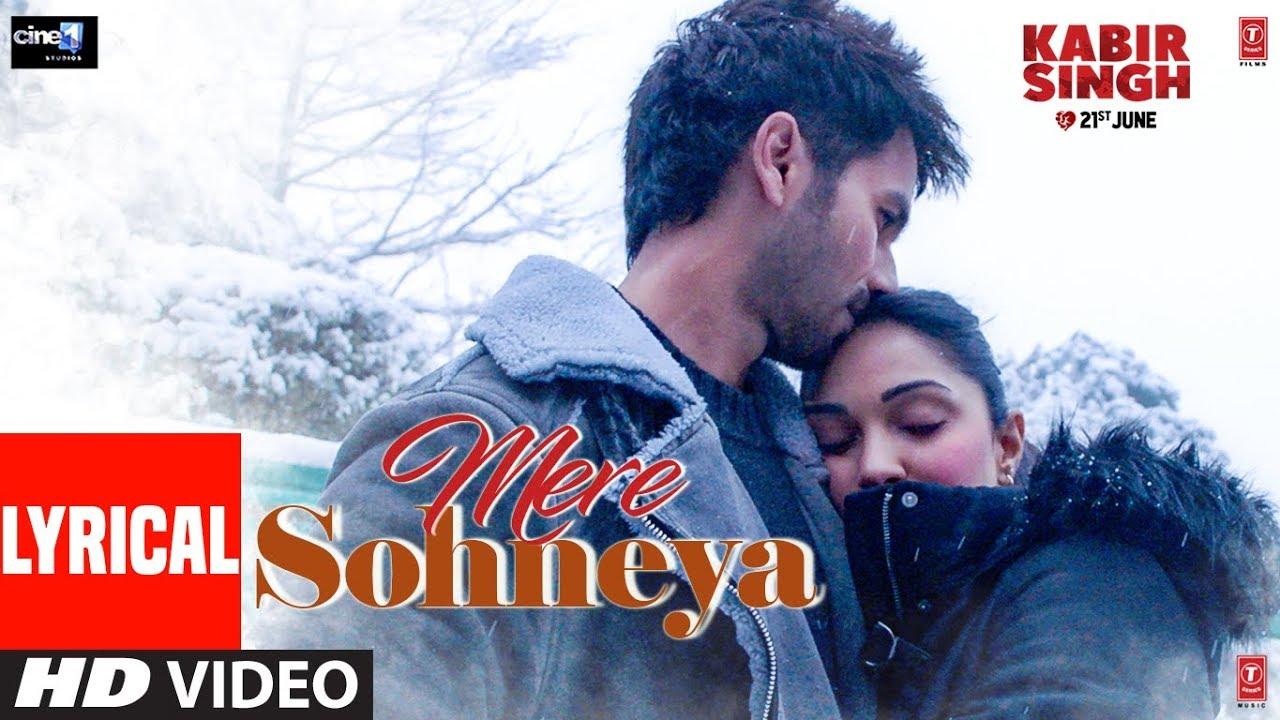 Mere Sohneya Song Lyrics Image