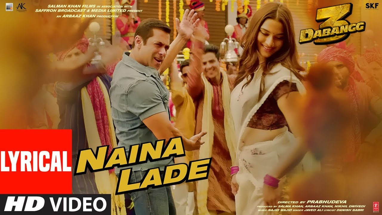 Naina Lade Song Lyrics Image