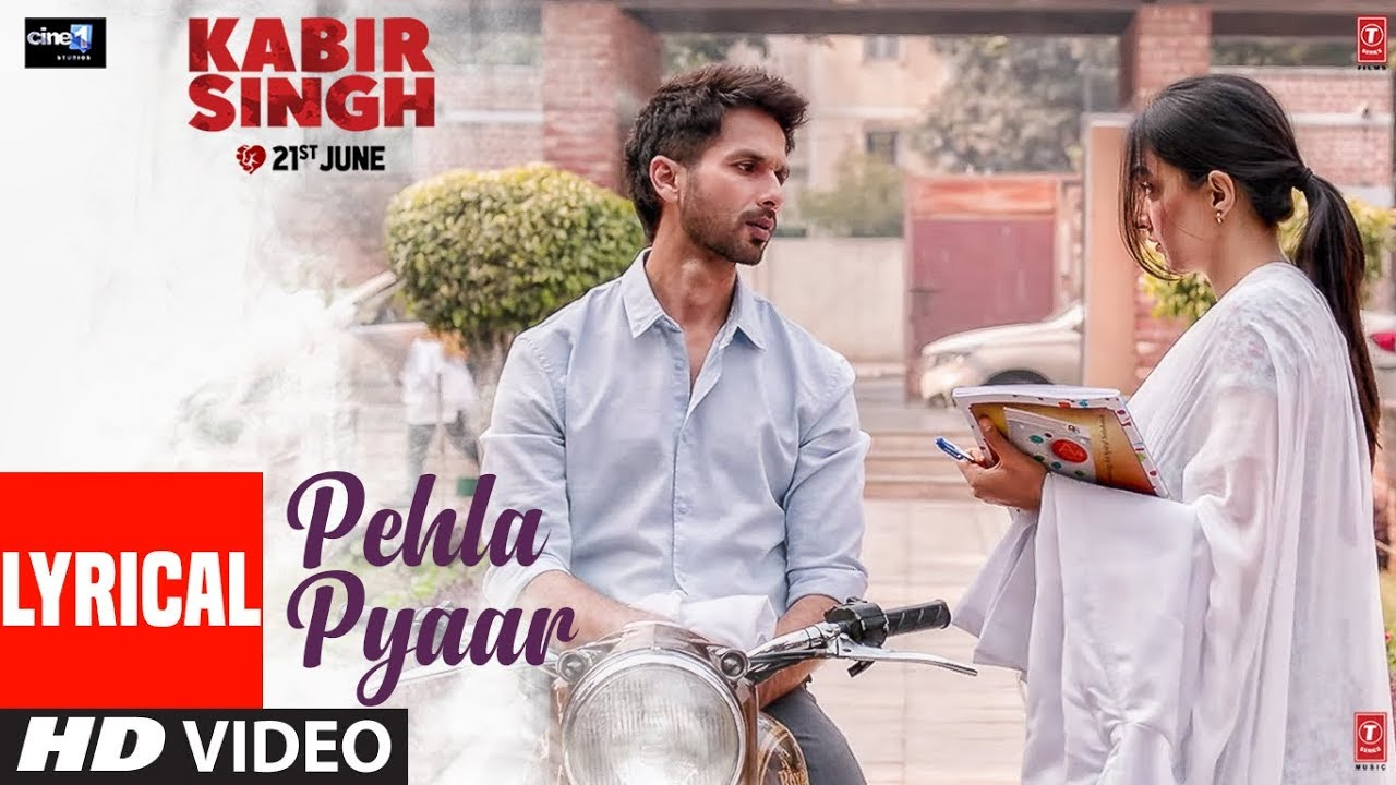 Pehla Pyaar Song Lyrics Image