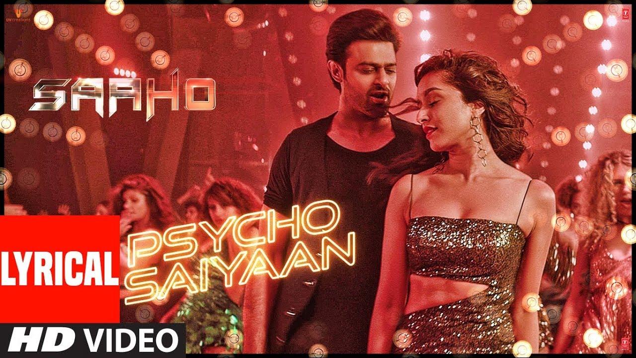 Psycho Saiyaan Song Lyrics Image