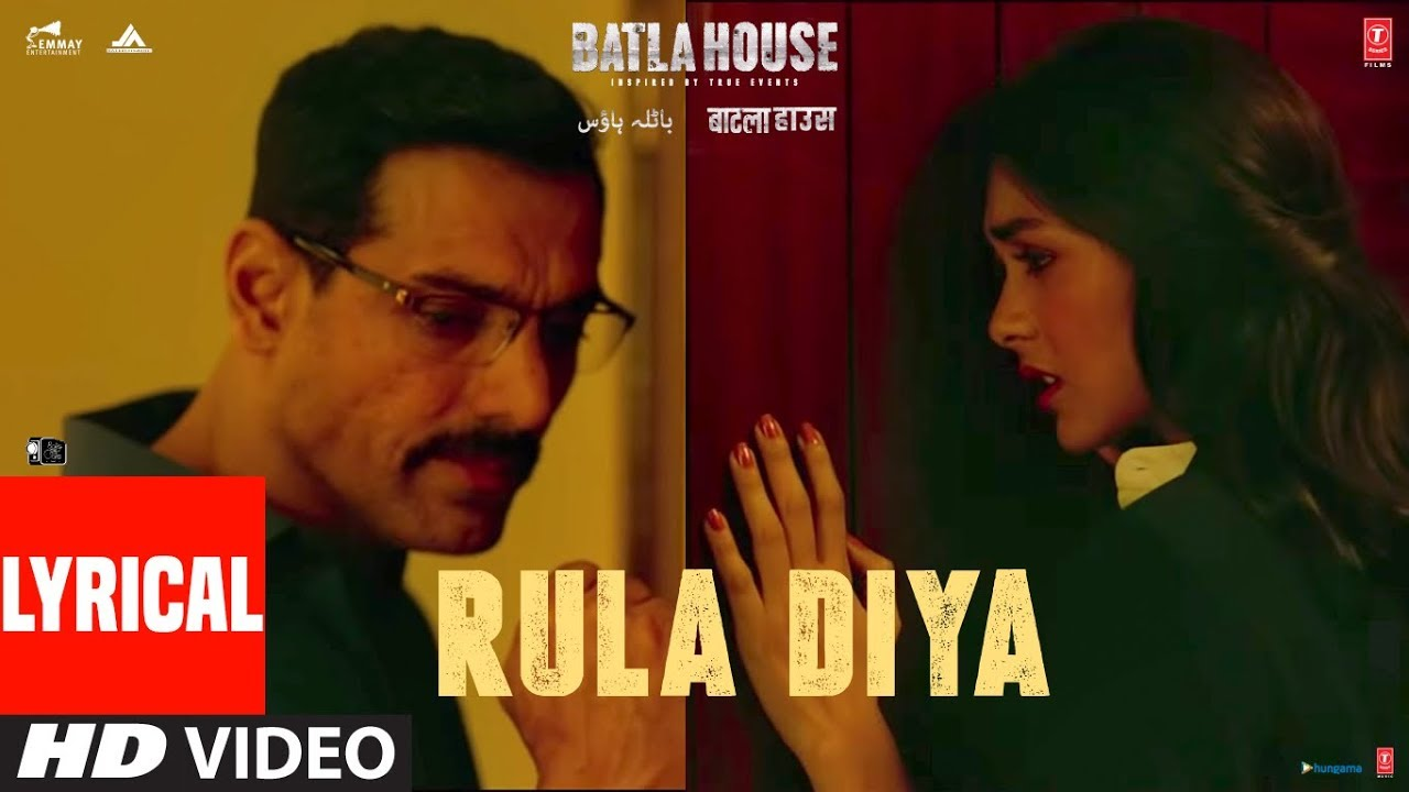 Rula Diya Song Lyrics Image