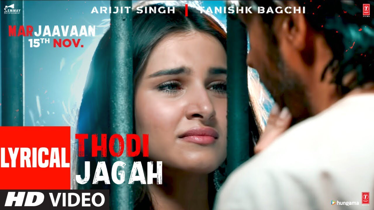 Thodi Jagah Song Lyrics Image