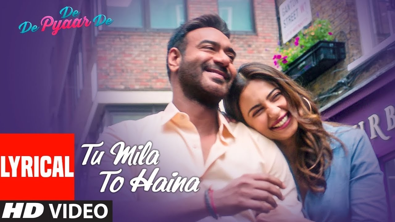 Tu Mila To Haina Song Lyrics Image
