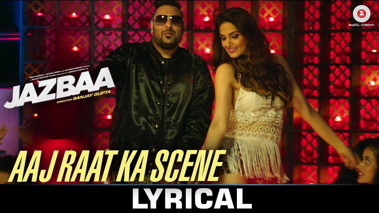 Aaj Raat Ka Scene Song Lyrics Image