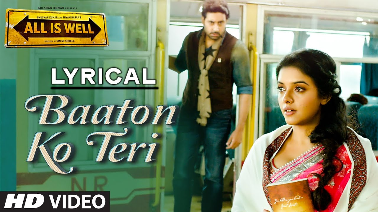 Baaton Ko Teri Song Lyrics