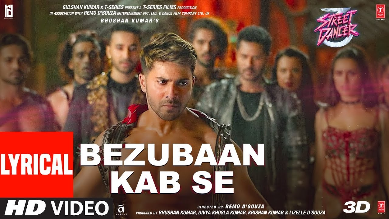 Bezubaan Kab Se Song Lyrics Image