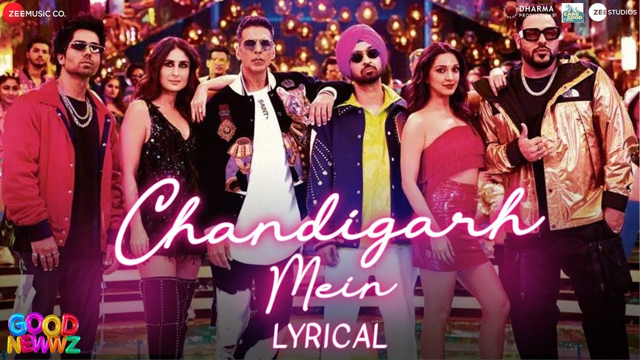 Chandigarh Mein Song Lyrics Image