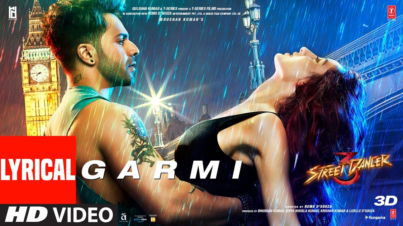 Garmi Song Lyrics Image