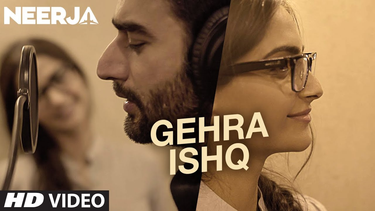 Gehra Ishq Song Lyrics Image