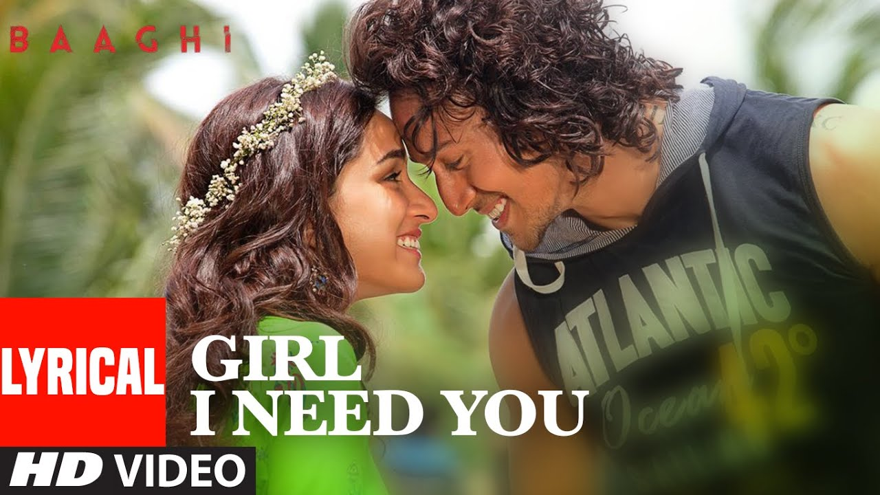 Girl I Need You Song Lyrics Image