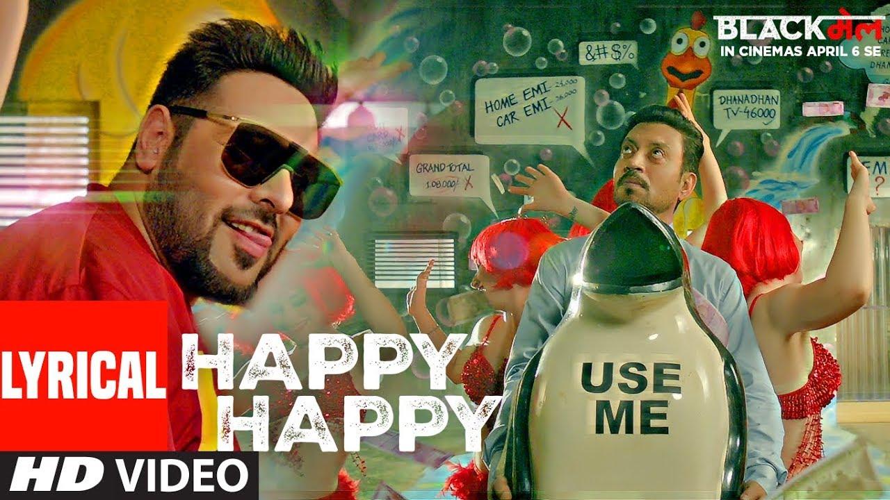 Happy Happy Song Lyrics Image