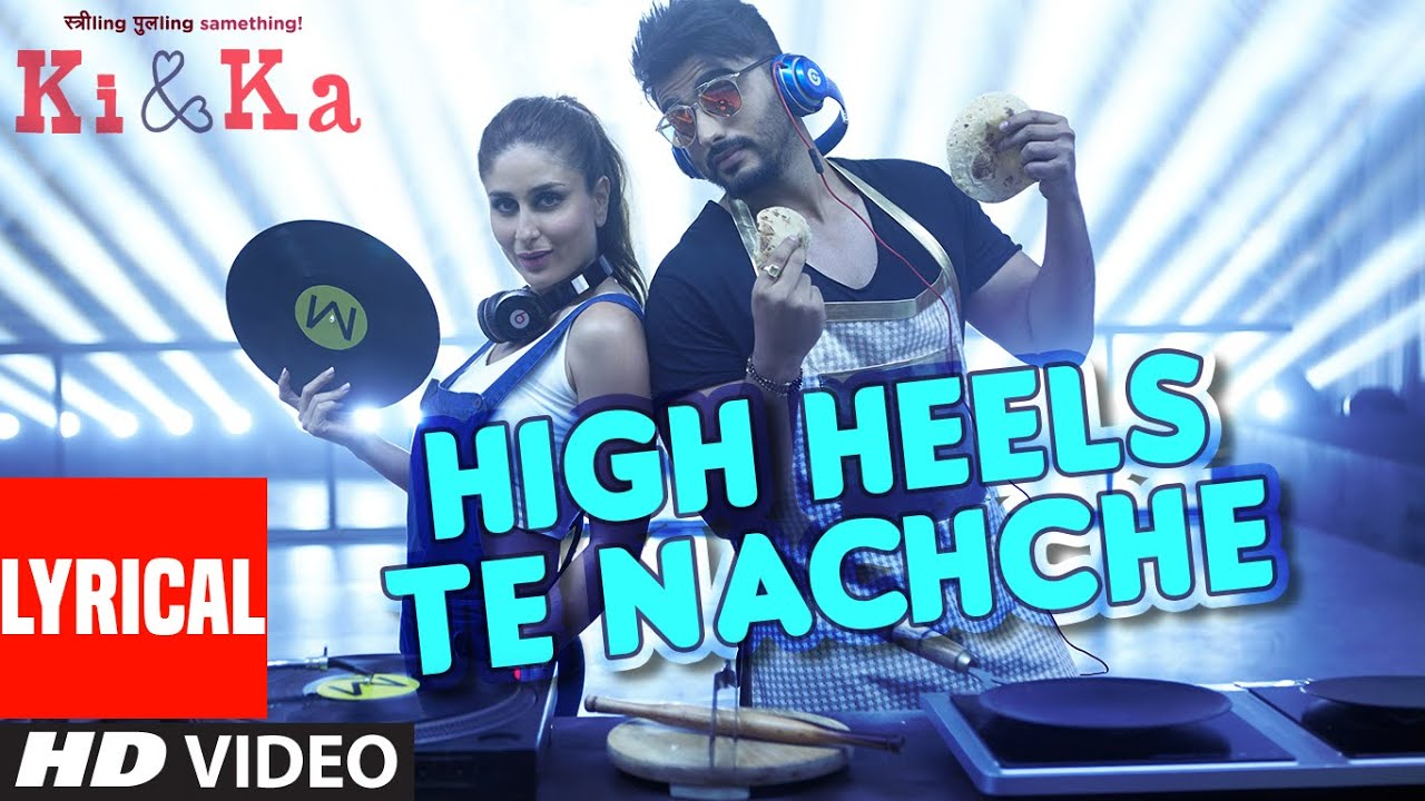 High Heels Te Nachche Song Lyrics Image