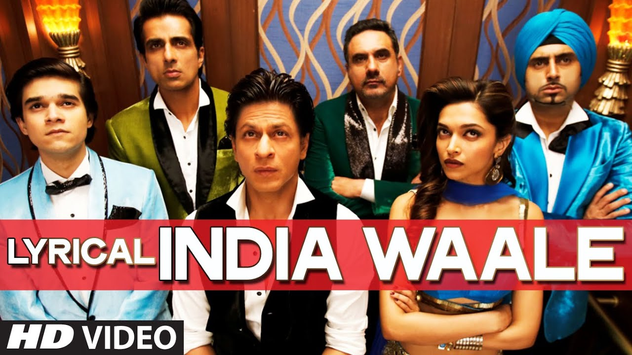 India Waale Song Lyrics Image