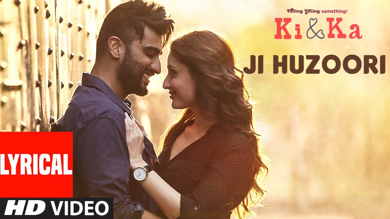 Ji Huzoori Song Lyrics Image