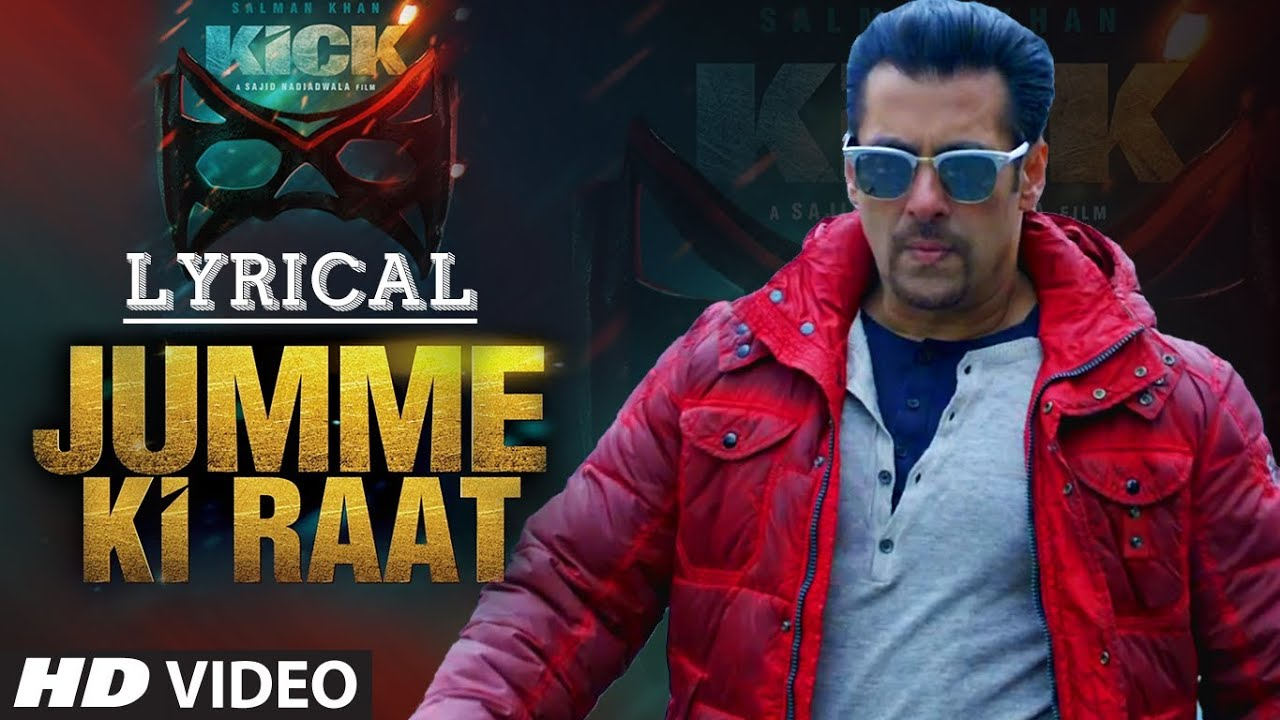 Jumme Ki Raat Song Lyrics Image