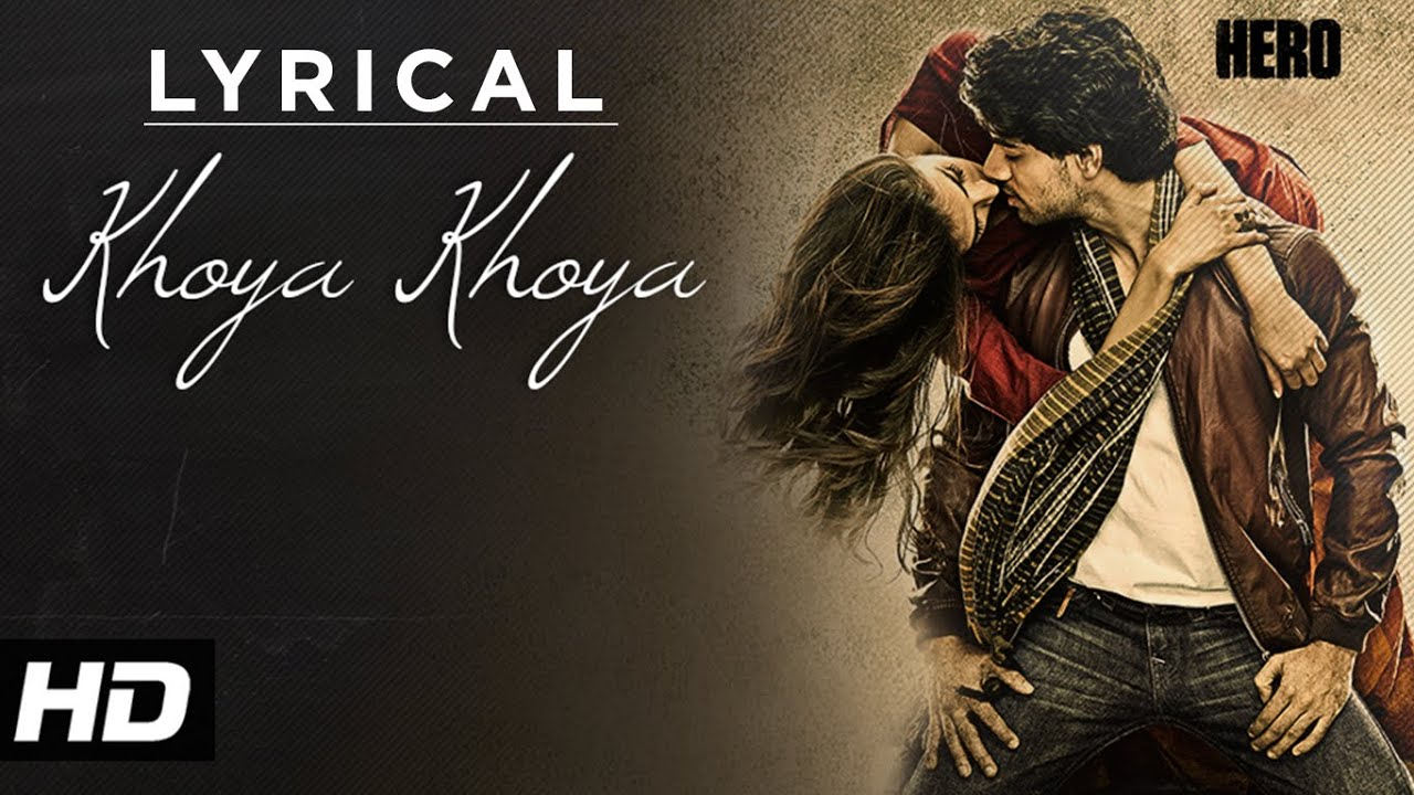 Khoya Khoya Song Lyrics Image