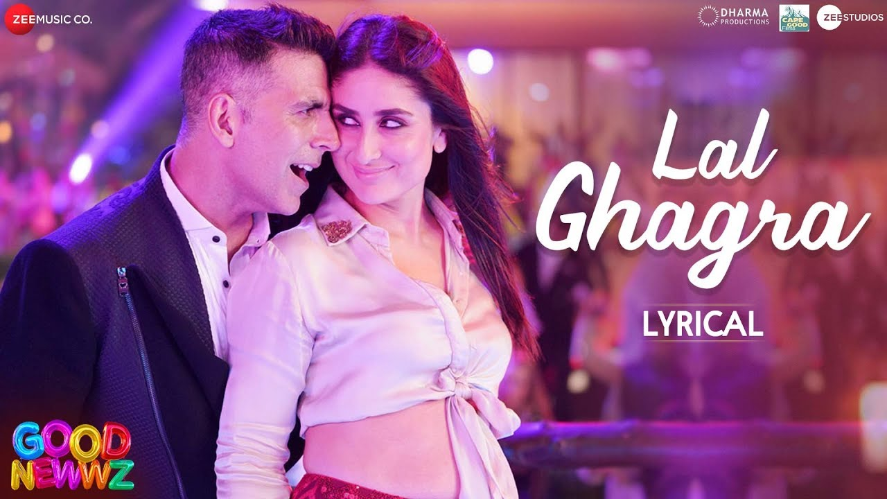 Laal Ghaghra Song Lyrics Image