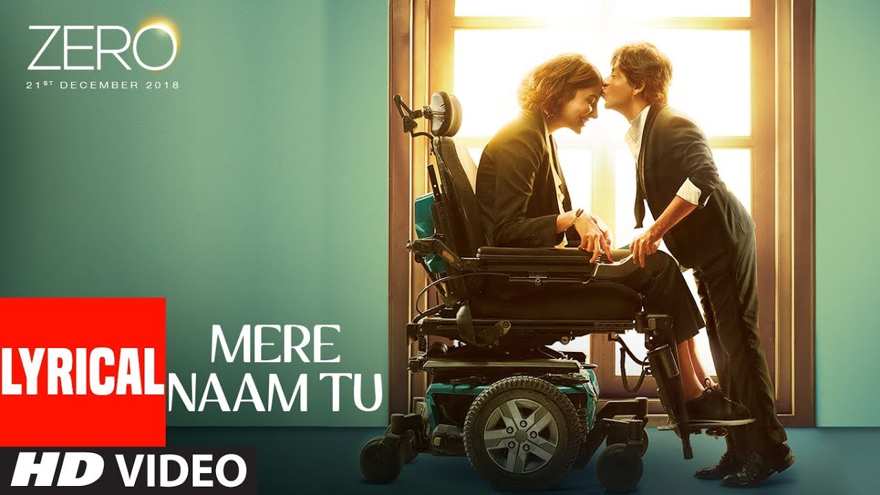 Mere Naam Tu Song Lyrics Image
