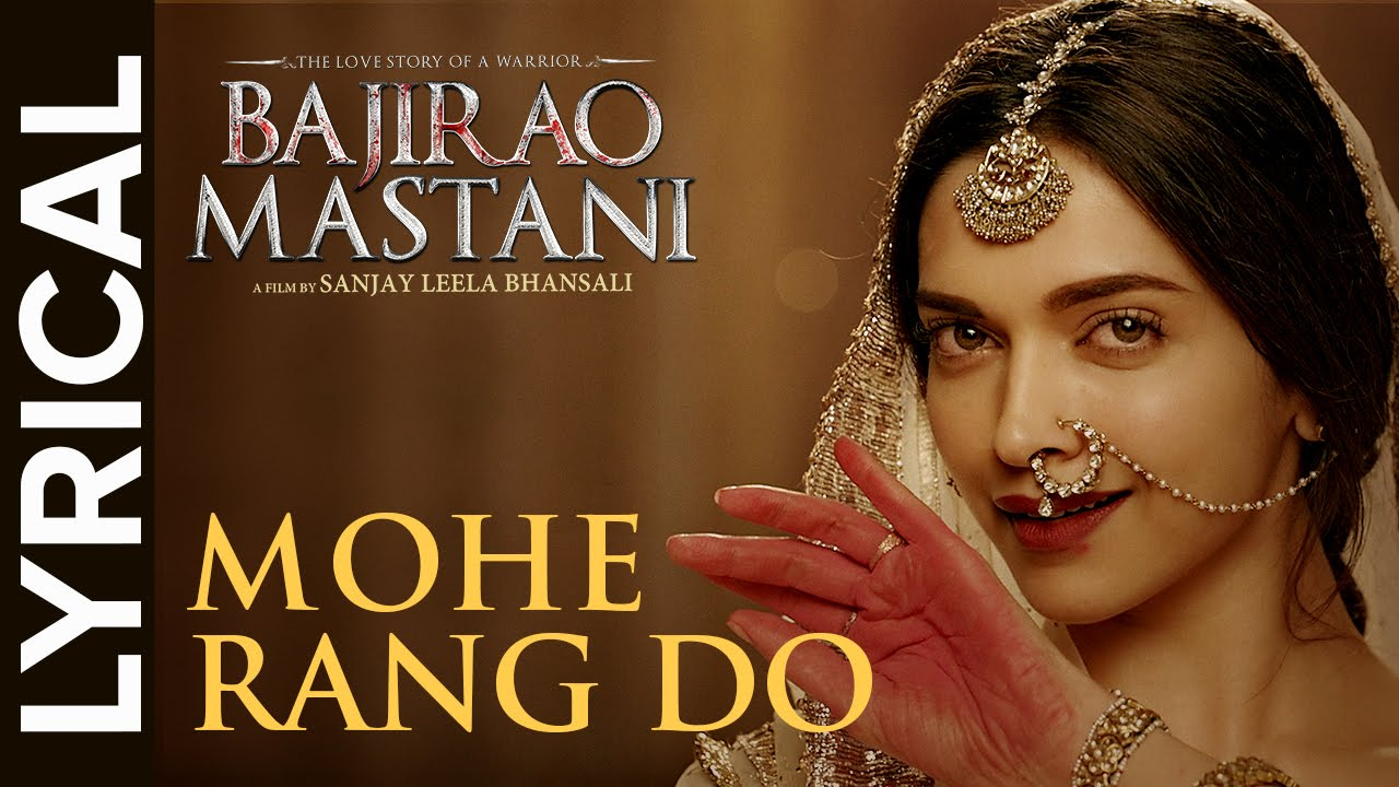 Mohe Rang Do Laal Song Lyrics Image