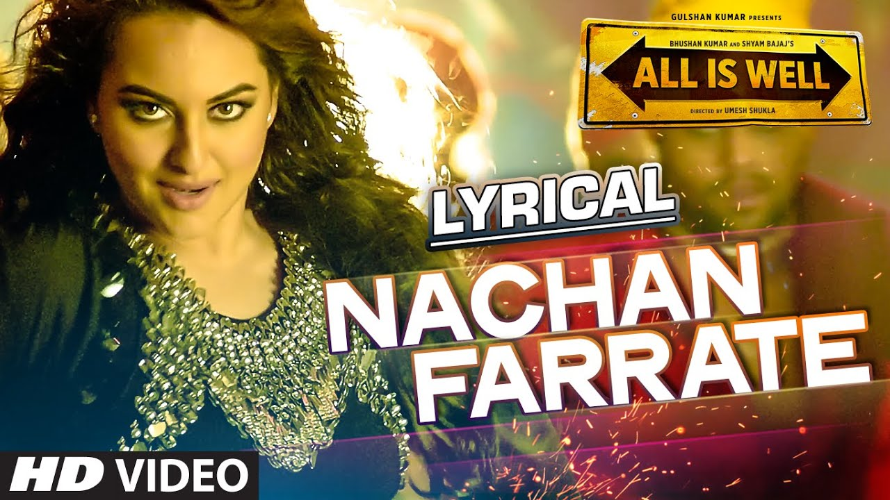 Nachan Farrate Song Lyrics