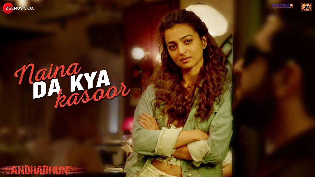 Naina Da Kya Kasoor Song Lyrics Image