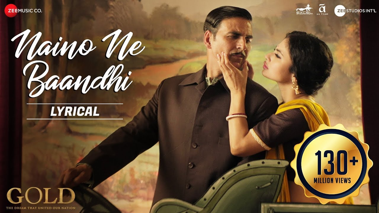 Naino Ne Baandhi Song Lyrics Image