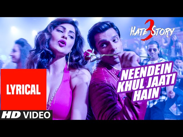 Neendein Khul Jaati Hain Song Lyrics Image