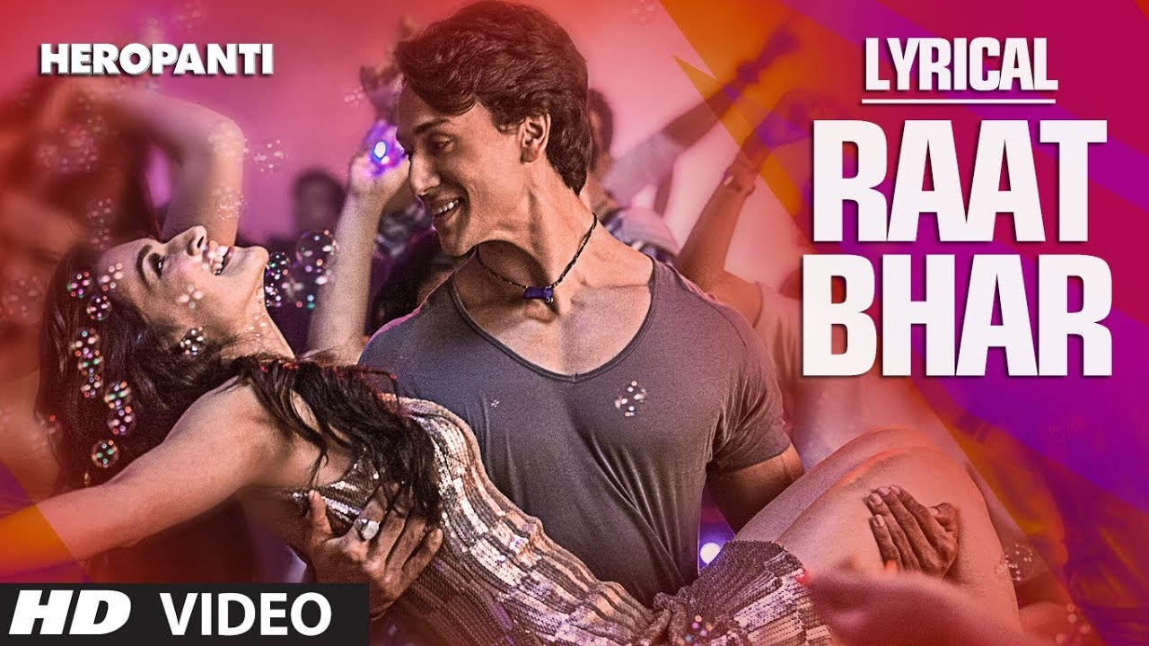 Raat Bhar Song Lyrics Image
