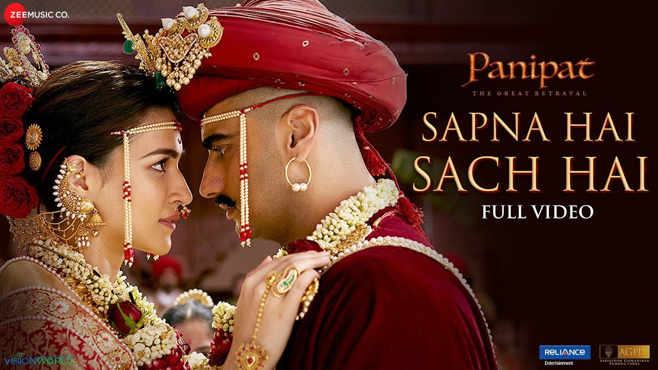 Sapna Hai Sach Hai Song Lyrics Image