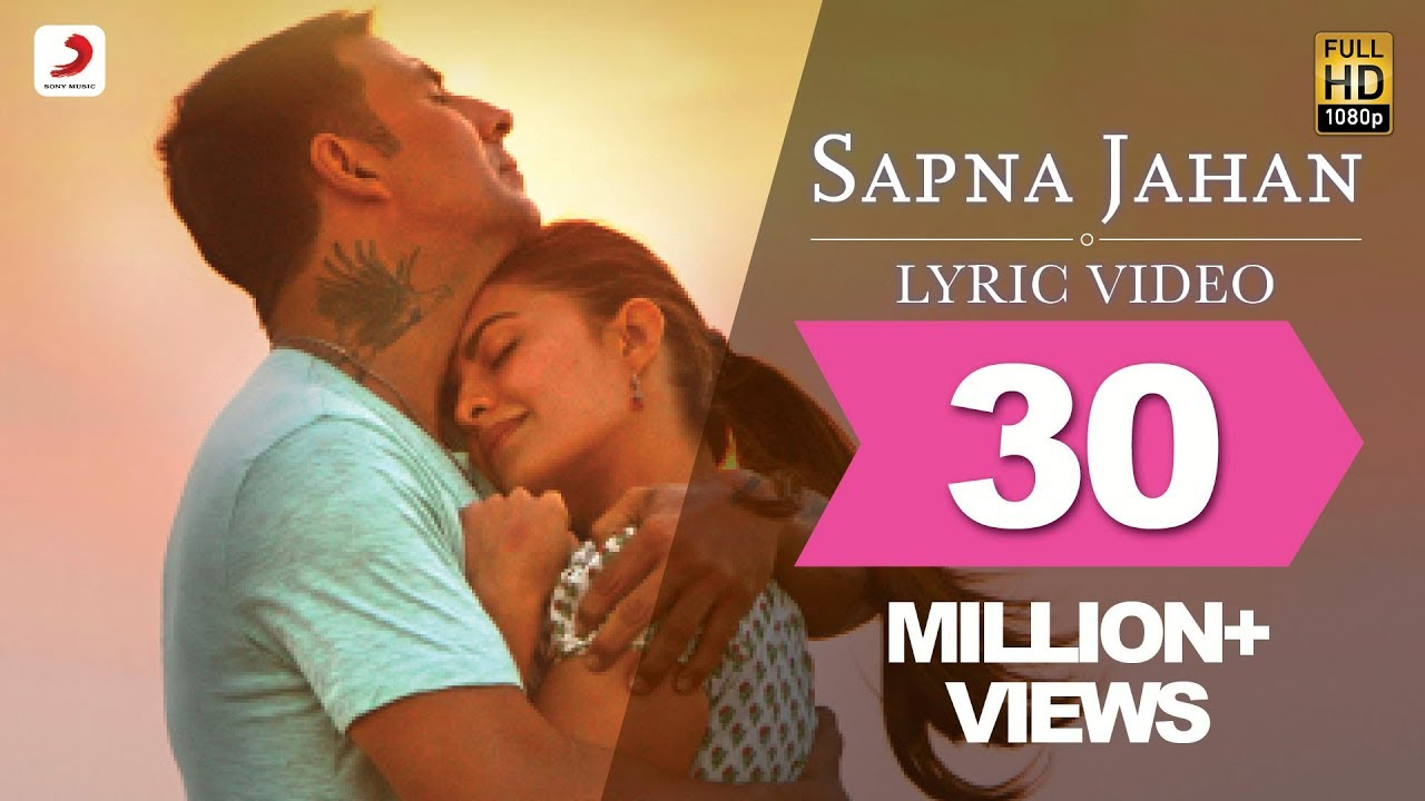 Sapna Jahan Song Lyrics Image