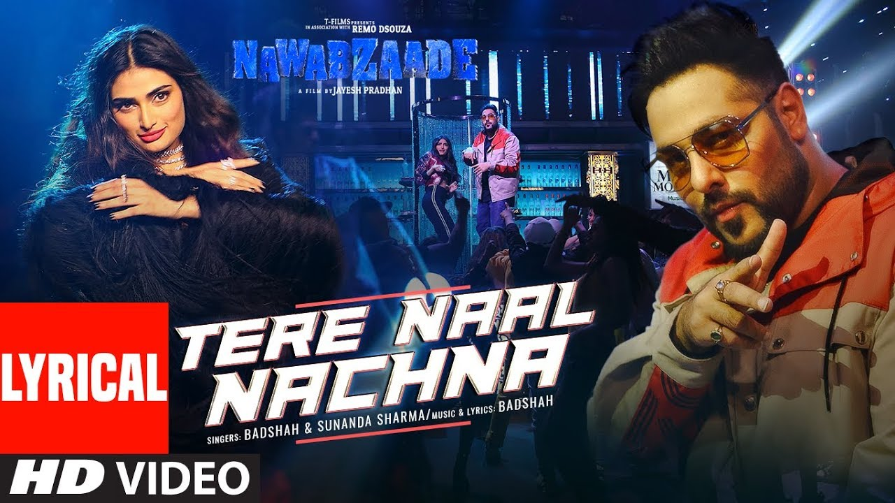 Tere Naal Nachna Song Lyrics Image