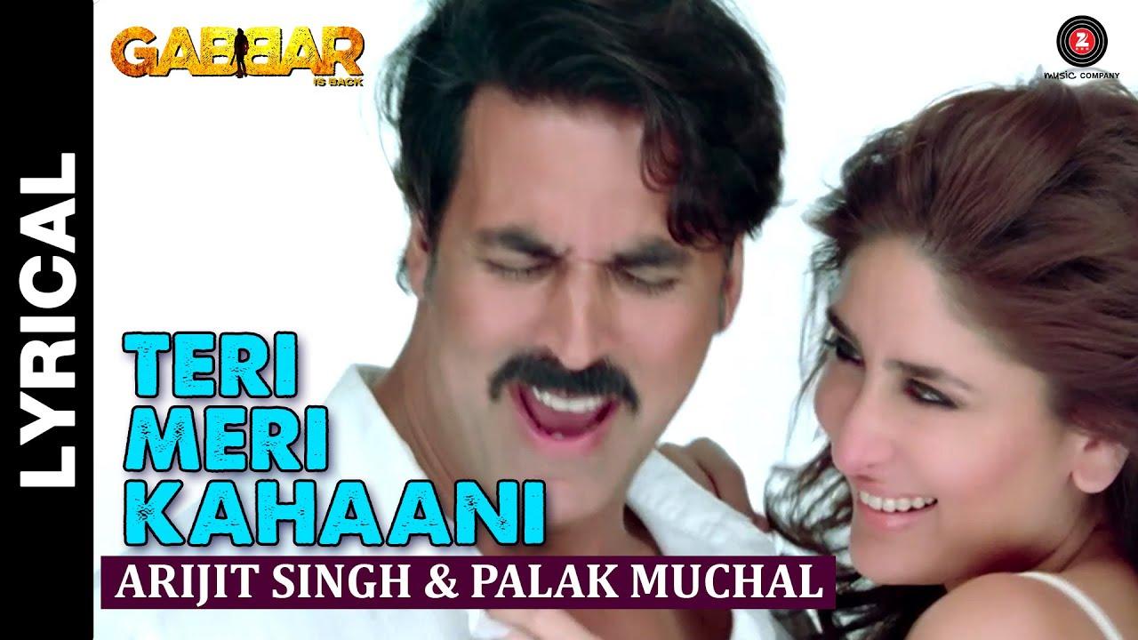 Teri Meri Kahaani Song Lyrics Image