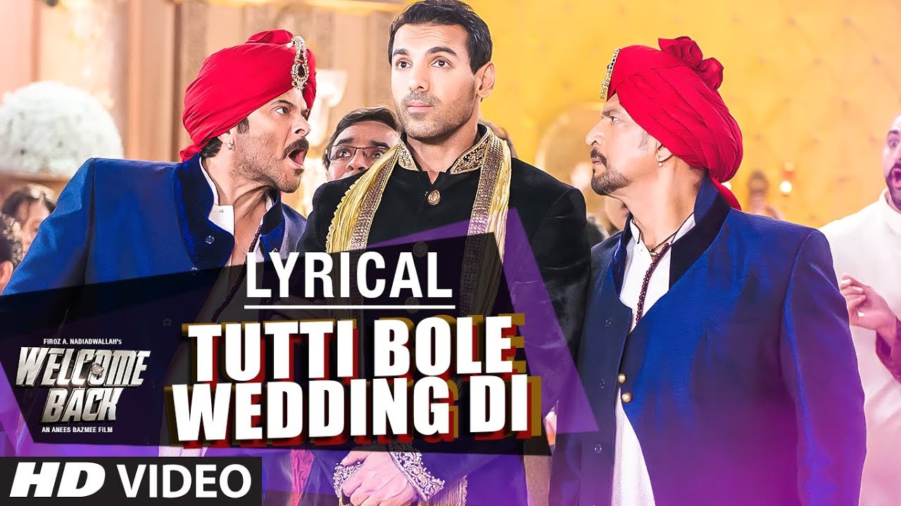 Tutti Bole Wedding Di Song Lyrics Image