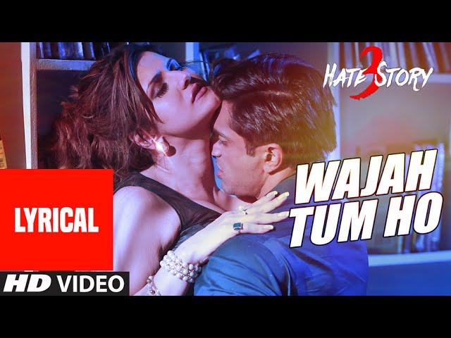 Wajah Tum Ho Song Lyrics Image