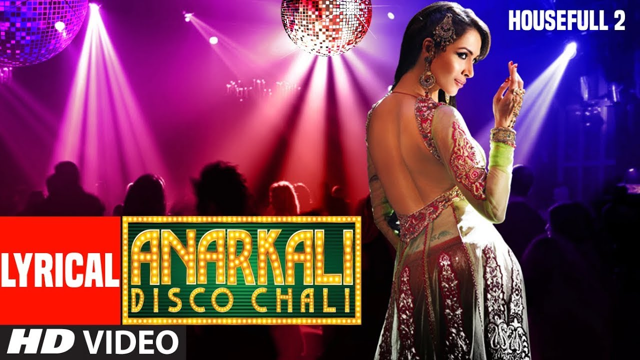 Anarkali Disco Chali Song Lyrics Image