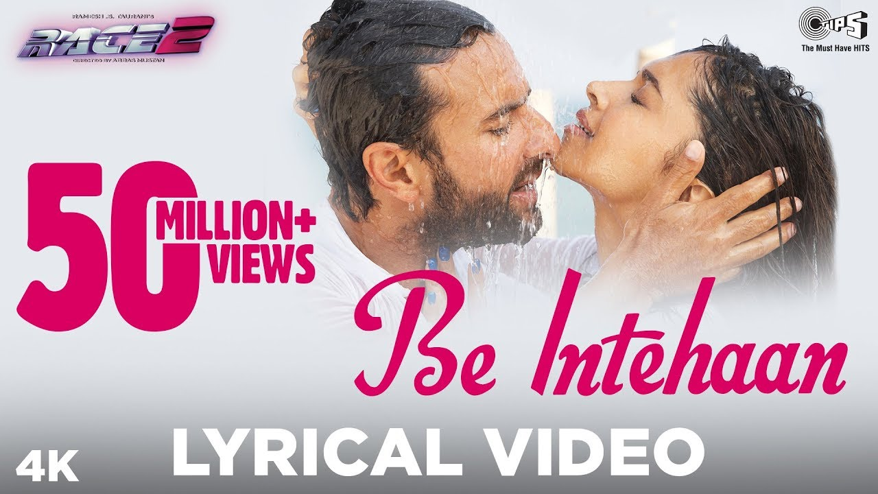 Be Intehaan Song Lyrics Image