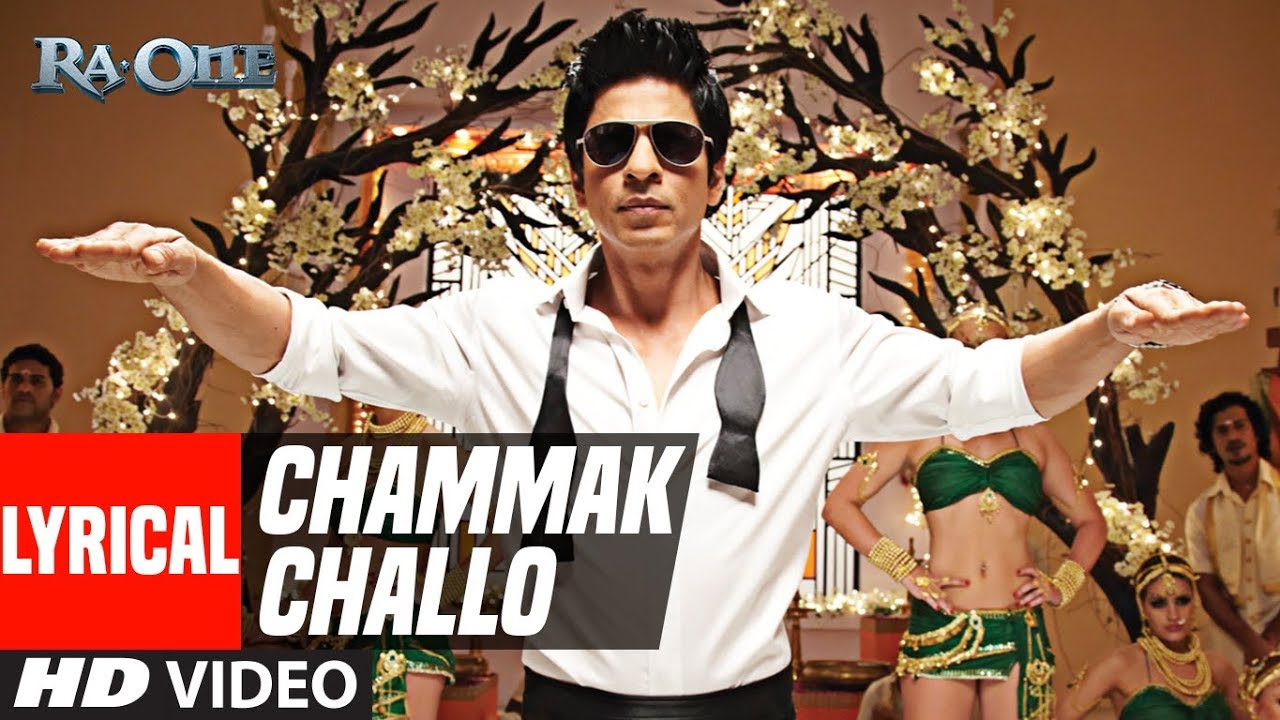 Chammak Challo Song Lyrics Image