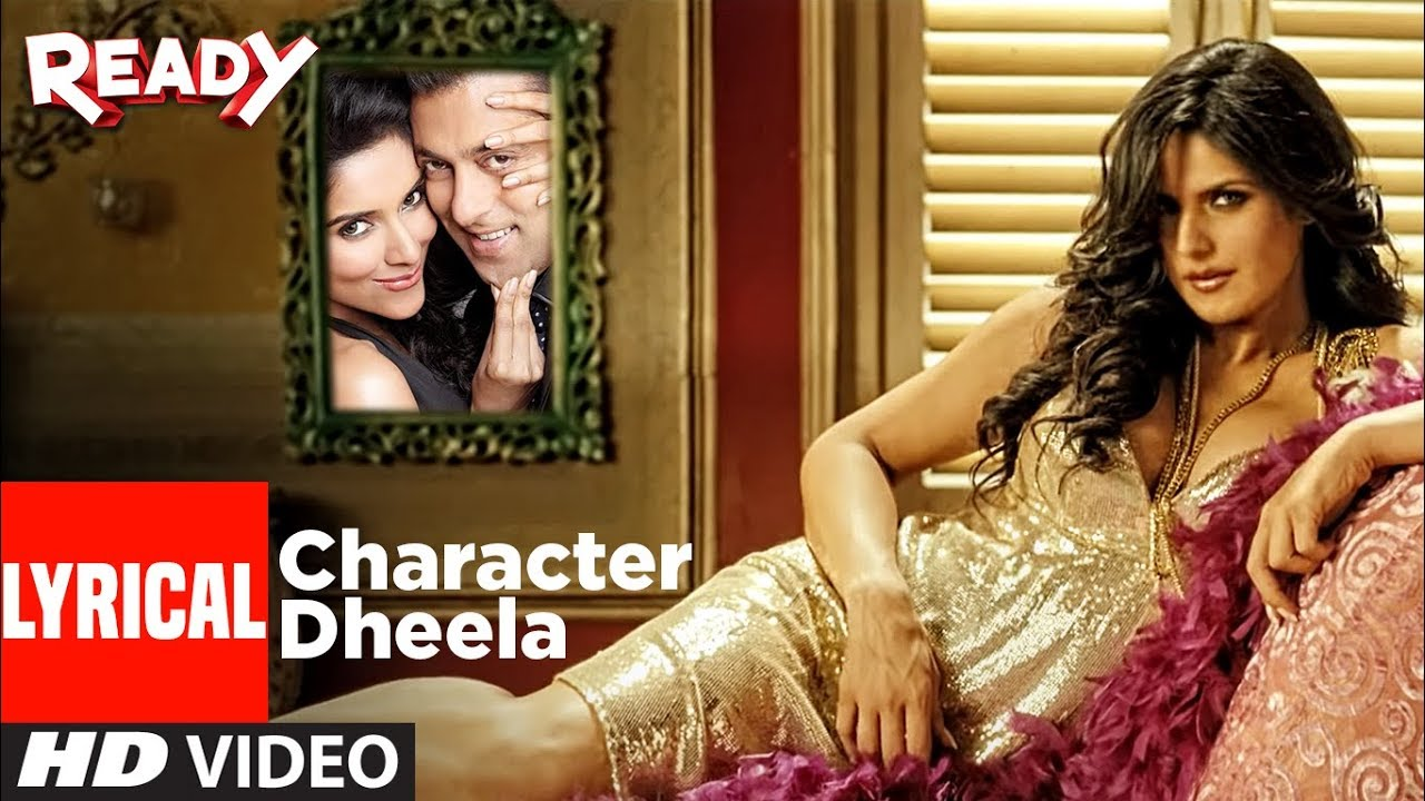 Character Dheela Song Lyrics Image