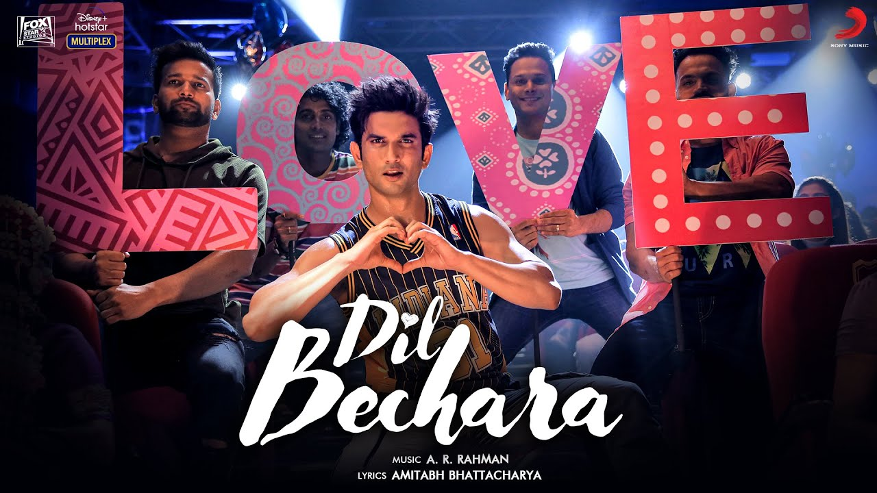 Dil Bechara (Title Track) Song Lyrics Image