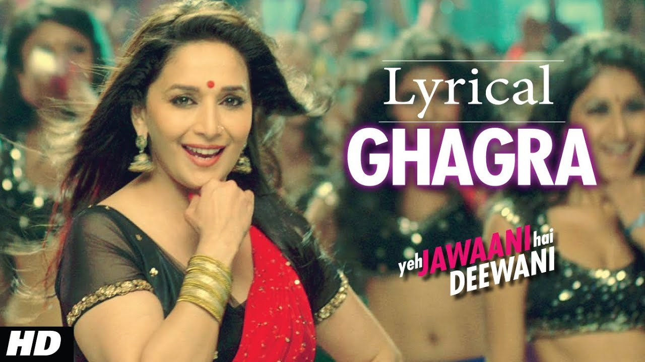 Ghagra Song Lyrics Image