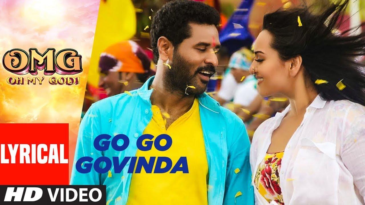 Go Go Govinda Song Lyrics Image