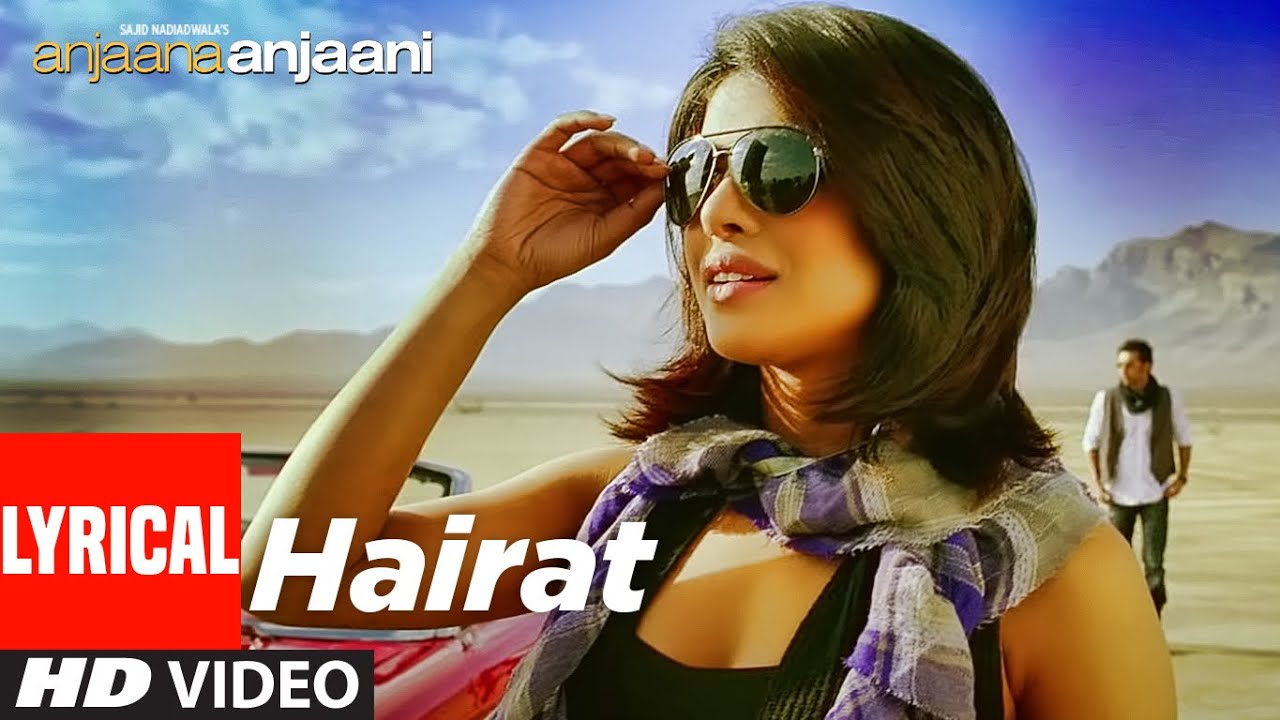 Hairat Song Lyrics Image