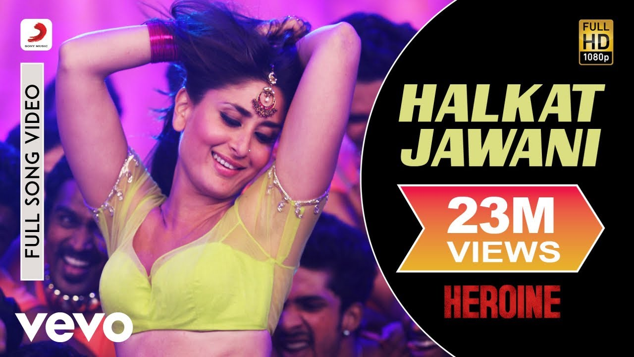 Halkat Jawani Song Lyrics Image