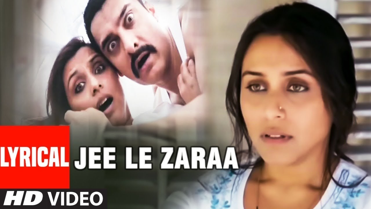 Jee Le Zara Song Lyrics Image